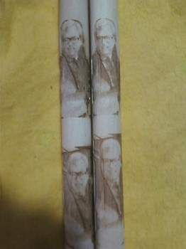 Photo engraved on Drumsticks